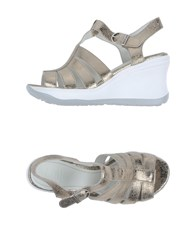 Ruco Line Footwear Sandals Women Platinum