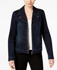 Styleandco. Style Co. Denim Moto Jacket Only At Macy's Jewel
