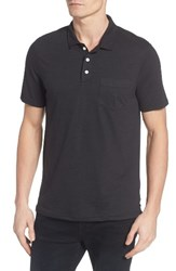 Men's 1901 Trim Fit Heathered Jersey Pocket Polo