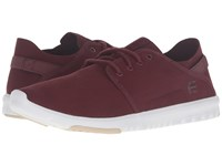 Etnies Scout Oxblood Men's Skate Shoes Red
