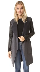 Soia And Kyo Tissa Coat Charcoal