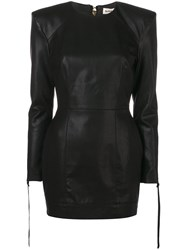 Nineminutes Long Sleeved Mini Dress Black