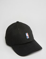 Mitchell And Ness Adjustable Cap Nba Logo Black