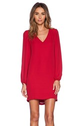 Eight Sixty Dress Red
