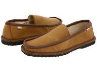 L.B. Evans Deerking Mocha Slippers Brown
