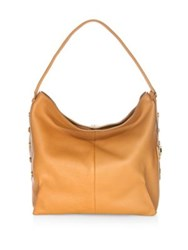 Botkier Soho Leather Hobo Bag Tan