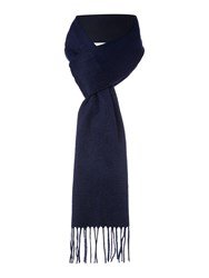 Howick Classic Cashmere Scarf Navy
