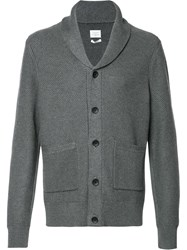Rag And Bone 'Avery' Shawl Cardigan Grey