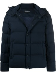 Emporio Armani Hooded Down Jacket 60