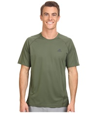 Adidas Outdoor Terrex Swift Drydye Tee Base Green Men's T Shirt Olive