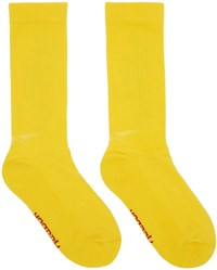 Vetements Yellow Reebok Edition Dhl Socks