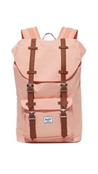 Herschel Supply Co. Little America Mid Volume Backpack Apricot Blush