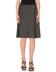 Laltramoda Skirts Knee Length Skirts Women Grey