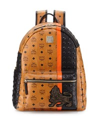 Munich Lion Backpack Cognac Red Mcm