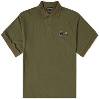 Gosha Rubchinskiy Football Polo Green