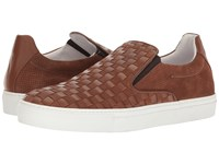 Bacco Bucci Vicenzo Brown Men's Slip On Shoes