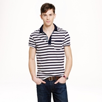 J.Crew Wallace And Barnes Indigo Polo