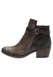 Mjus Cowboy Biker Boots Pepe Taupe