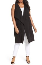 Sejour Plus Size Women's Duster Vest
