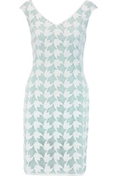 Tory Burch Brooklyn Broderie Anglaise Mini Dress White