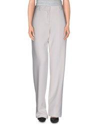 Giorgio Armani Trousers Casual Trousers Women Ivory