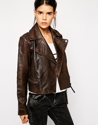 Barney's Originals Leather Jacket