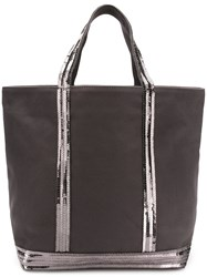 Vanessa Bruno Small Shopper Tote Grey