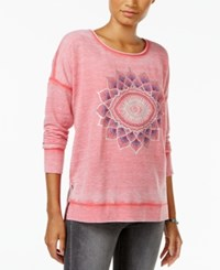 Lucky Brand Graphic Sweatshirt Coral Bay