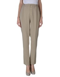 Transit Par Such Trousers Casual Trousers Women Beige