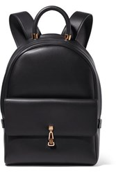 Gabriela Hearst Billie Leather Backpack Navy