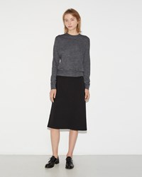 Jil Sander Asymmetrical Skirt Black