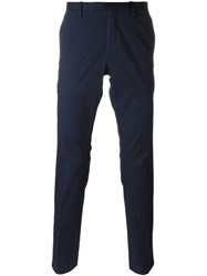 Michael Kors Collection Slim Fit Trousers Blue
