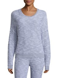 Stateside Boucle French Terry Sweatshirt White Grey