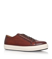 Magnanni Tennis Trainers Male Tan