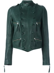 Faith Connexion Double Breasted Jacket Green