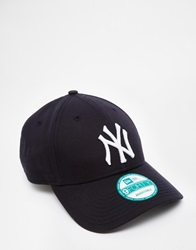 New Era 9Forty Ny Adjustable Cap Navy