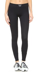 Heroine Sport Ribbed Performance Leggings Black
