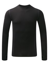 Tog 24 Men's Ultra Mens Merino Crew Neck Black