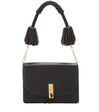 Altuzarra Ghianda Leather Shoulder Bag Black