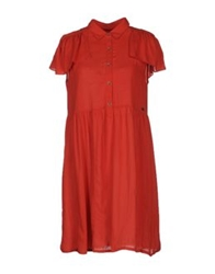 Replay Short Dresses Red