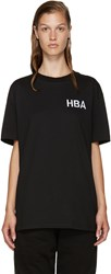 Hood By Air Black Logo T Shirt