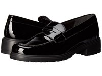 Munro American Jordi Black Patent Women's Slip On Dress Shoes
