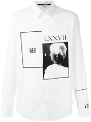 Mcq By Alexander Mcqueen Optic White Shirt