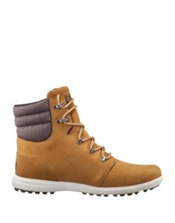 Helly Hansen Waterproof Leather Boots New Wheat