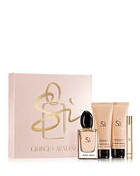 Armani Si Eau De Parfum Four Piece Gift Set No Color