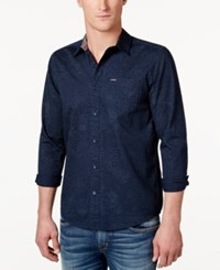 Volcom Men's Bayne Shirt Navy