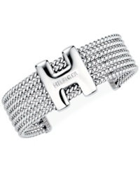 Tommy Hilfiger 'H' Enamel Rope Classic Signature Cuff Bracelet