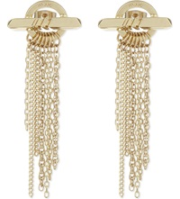 Maje Chain Earrings Gold