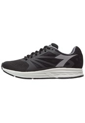 Diadora Kuruka Neutral Running Shoes Black Gray Rock
