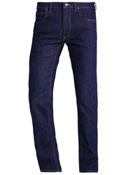 Lee Daren Straight Leg Jeans Royal Rinse Dark Blue Denim